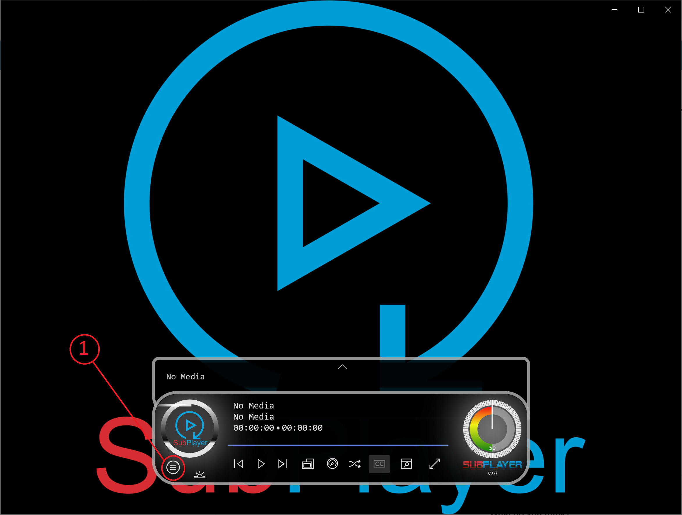 subplayer for internet radio stations
